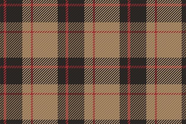 Tartan geruite patroon naadloze vector achtergrond. check plaid voor flanellen overhemd, deken, plaid of ander modern textielontwerp.