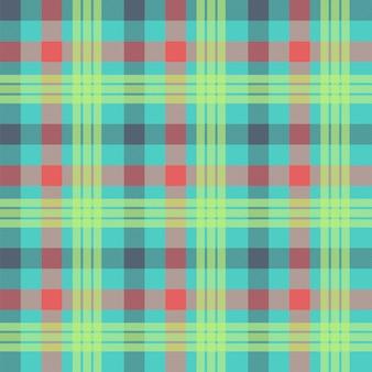 Tartan multicolor naadloze patroon achtergrond