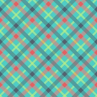 Tartan multicolor naadloze patroon