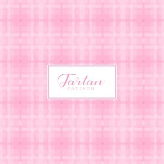 Tartan patroon met roze kleuren