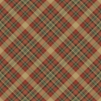 Tartan schotland naadloze geruite patroon. retro stof als achtergrond. vintage check kleur vierkant geometrische textuur.