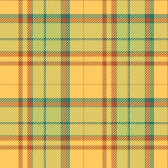 Tartan schotland naadloze geruite patroon vector. retro stof als achtergrond. vintage check kleur vierkant geometrische textuur.