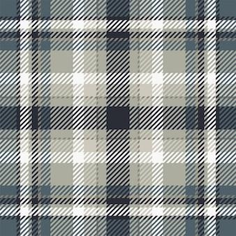 Tartan schotland naadloze geruite patroon vector. retro stof als achtergrond. vintage check kleur vierkante geometrische textuur voor textiel print, inpakpapier, cadeaubon, behang plat ontwerp.