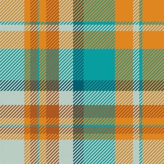 Tartan schotland naadloze plaid patroon vector. retro stof als achtergrond. vintage check kleur vierkant geometrische textuur.