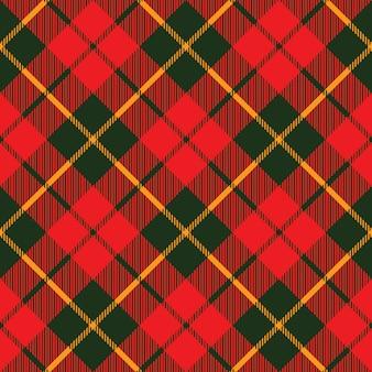 Tartan stof textuur diagonaal naadloze patroon
