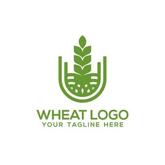 Tarwe logo inspiratie