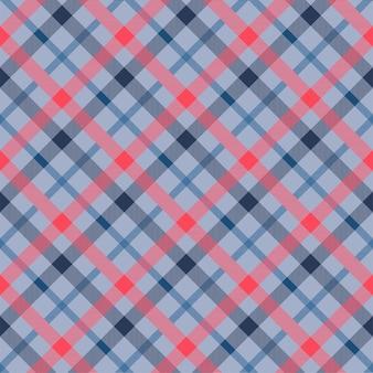 Tattersall materiaalkleur naadloze vector patroon