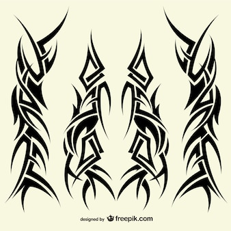Tattoos tribal ontwerpen collectie