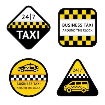 Taxi - etiketten instellen