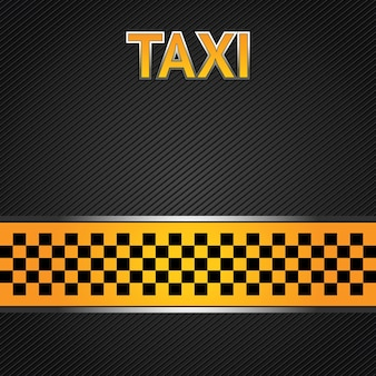 Taxi taxi achtergrond