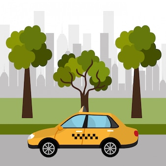 Taxi voor stedenbouw
