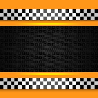 Taxicabine dichte omhooggaand als achtergrond
