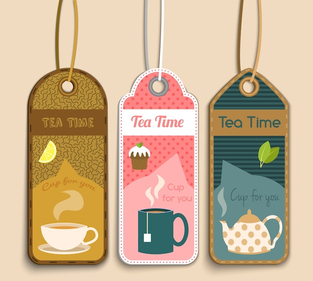 Tea labels collectie