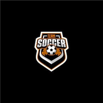 Team voetbal logo