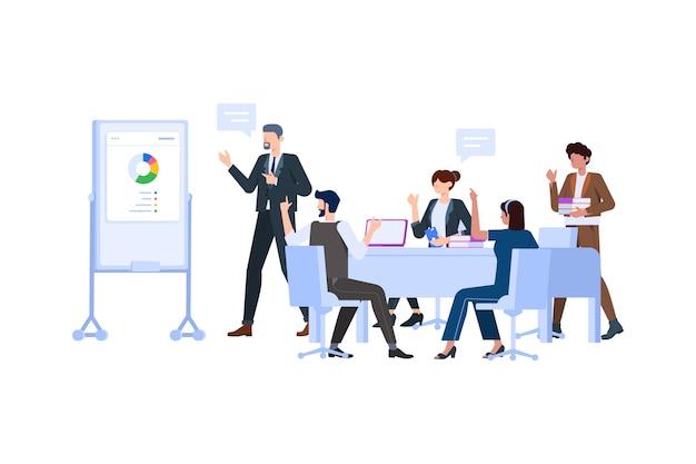 Team werk concept