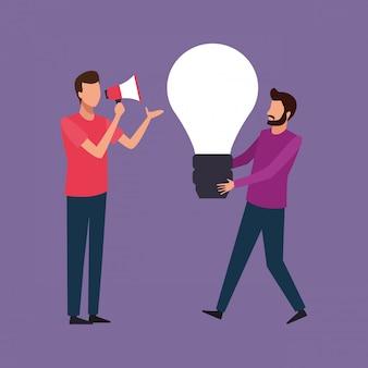 Teamwerk creatief ontwerp