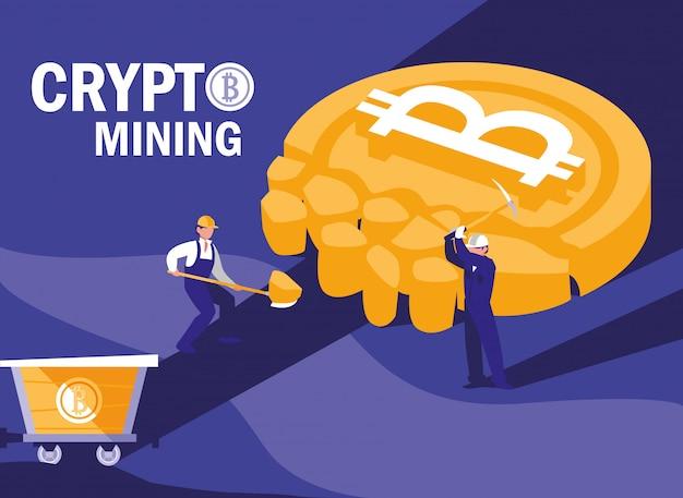 Teamwerkers crypto mining bitcoins