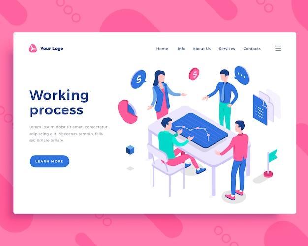 Teamwork proces concept