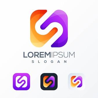 Tech logo sjabloon