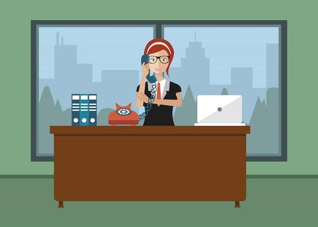 Technisch assistent assistent