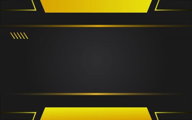 Technische achtergrond in gele en zwarte kleur