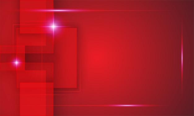 Technische achtergrond in rode kleur