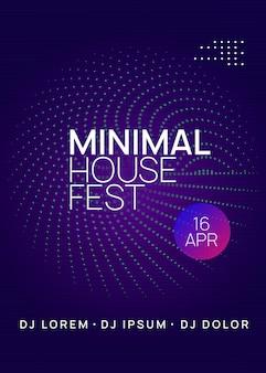 Techno evenement poster
