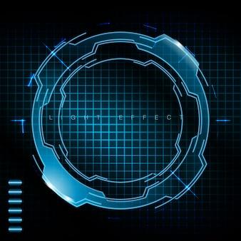 Technologic achtergrond ontwerp