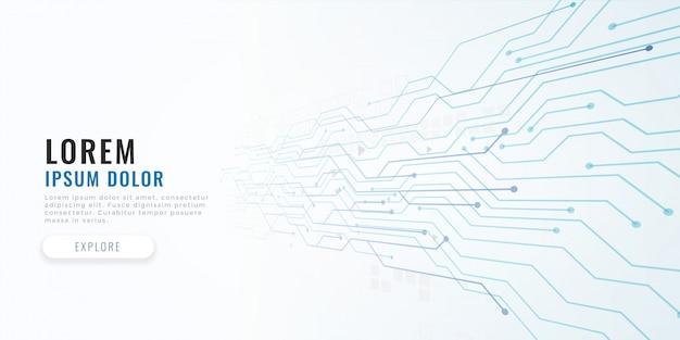 Technologie circuit diagram concept achtergrond