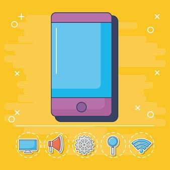 Technologie en innovatie-elementen