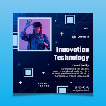 Technologie en toekomstige vierkante flyer