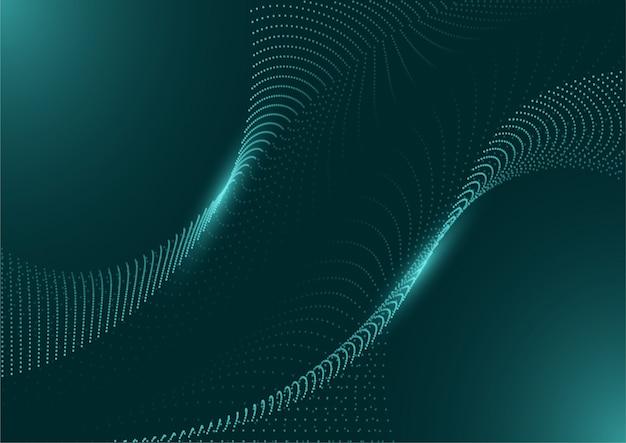 Technologie futuristische circuit digitale achtergrond