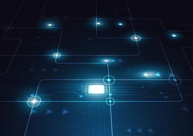 Technologie geometrische achtergrond
