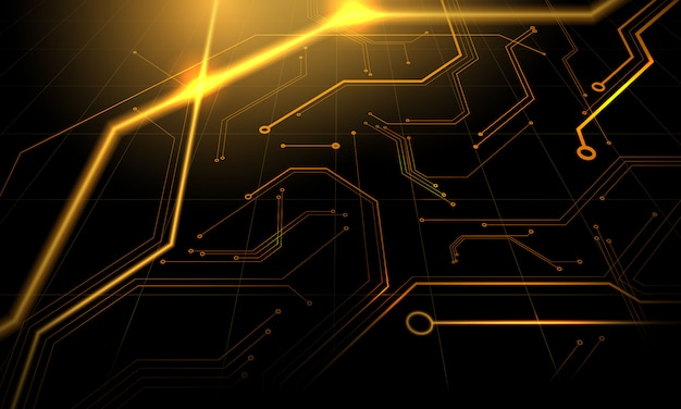 Technologie geometrische technologie modern concept. abstracte textuurachtergrond