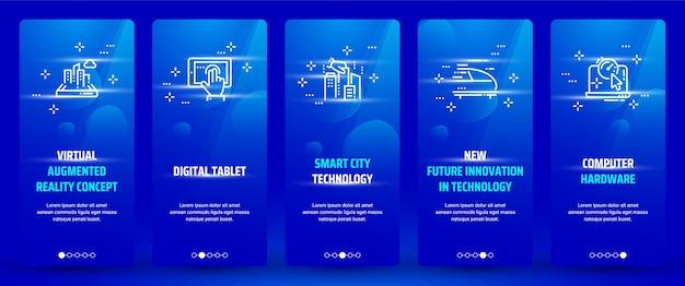Technologie kaarten