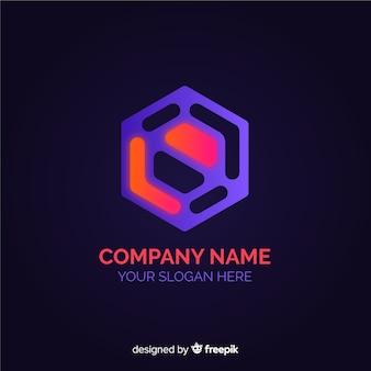 Technologie logo achtergrond