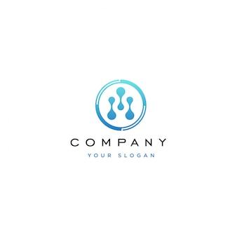 Technologie logo ontwerp