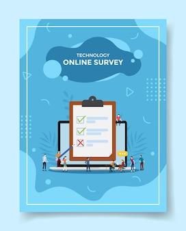 Technologie online-enquête