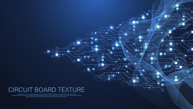 Technologie printplaat textuur achtergrond