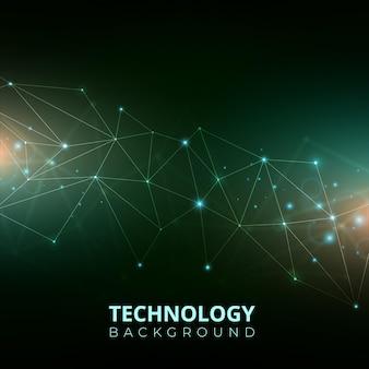 Technologie verloop achtergrond