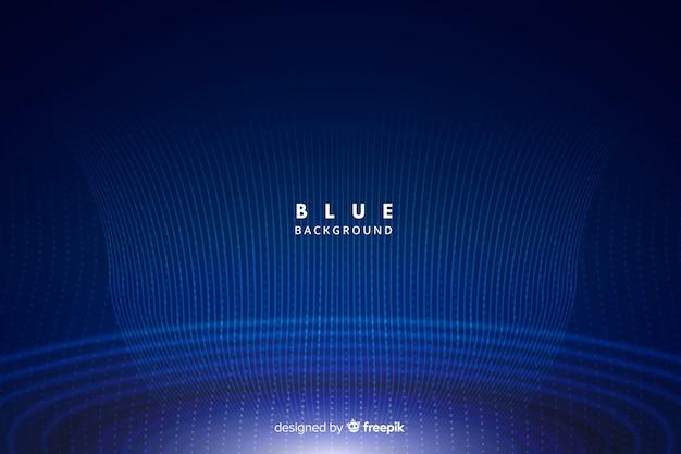 Technologieachtergrond met blauwe abstracte vormen