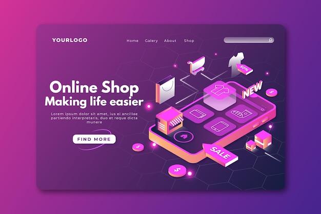 Technologisch ontwerp online winkelen