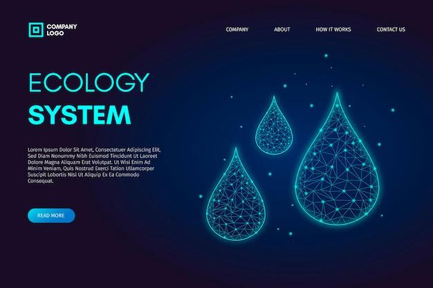 Technologische ecologie concept