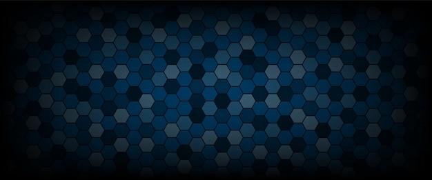 Technologische zeshoek patroon achtergrond