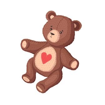 Teddybeer. plushen speelgoed.