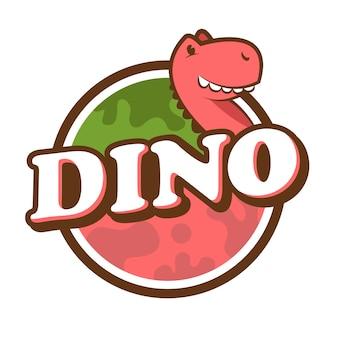 Teken van de dinosaurus