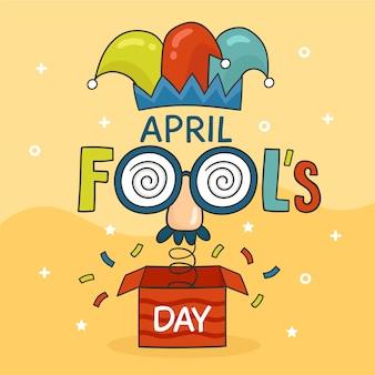 Tekening april dwazen dag