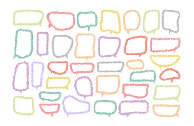 Tekstballon gesneden papieren ontwerpsjabloon vectorillustratie voor uw bedrijf
