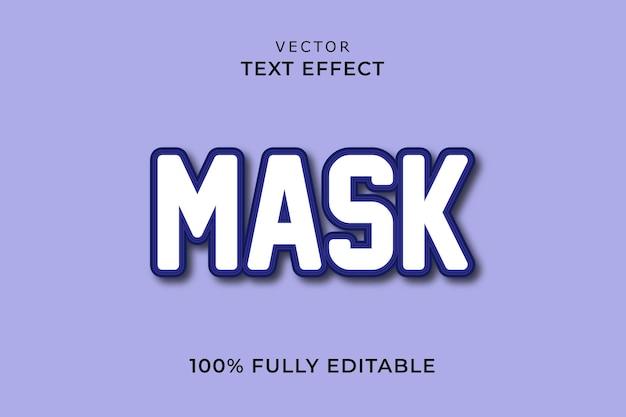 Teksteffect maskeren