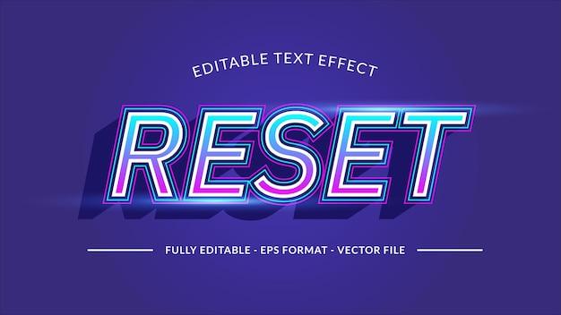 Teksteffect resetten voor technologie of futuristisch thema